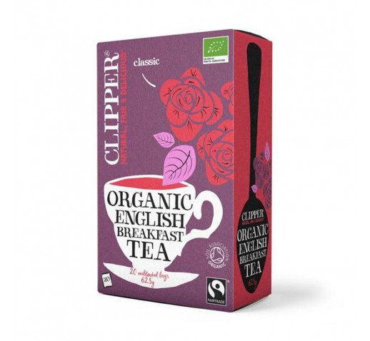Clipper - Organic Fairtrade English Breakfast Tea 25 filter 62,5 g