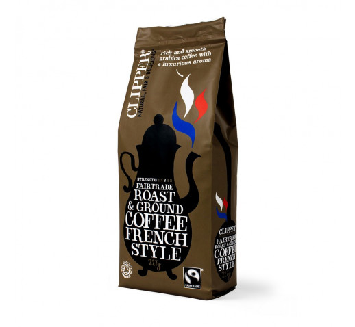 Clipper - Organic Fairtrade French Coffee 227 g
