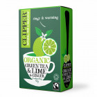 Clipper - Organic Fairtrade Green Tea Lemon & Ginger 20 filter 40 g