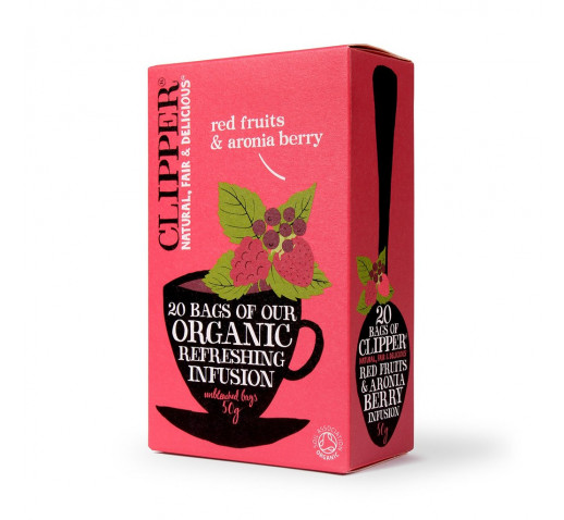 Clipper - Organic Red Fruits & Aronia Berry Tea 25 filter 62,5 g