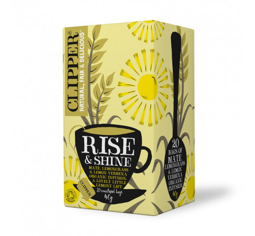 Clipper - Organic Rise & Shine Tea 20 filter 40 g