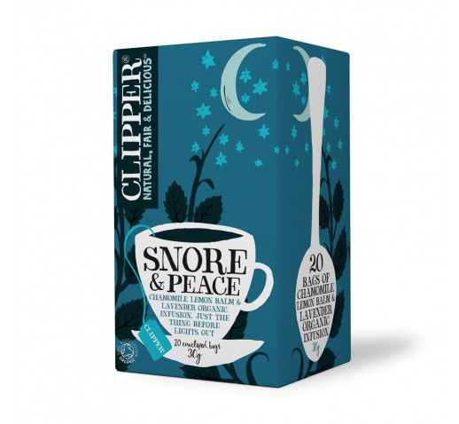 Clipper - Organic Snore & Peace Tea 20 filter 30 g