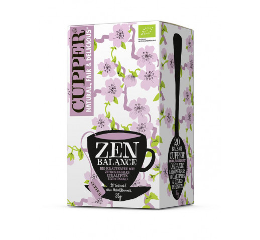 Cupper - Organic Zen Balance Tea 20 filter 35 g