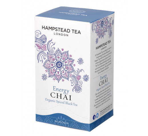 Hampstead Tea - Organic Energy Chai - Black Tea 20 filter 40 g