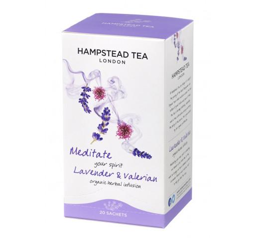 Hampstead Tea - Bio Levendula és Valeriána tea 20 g