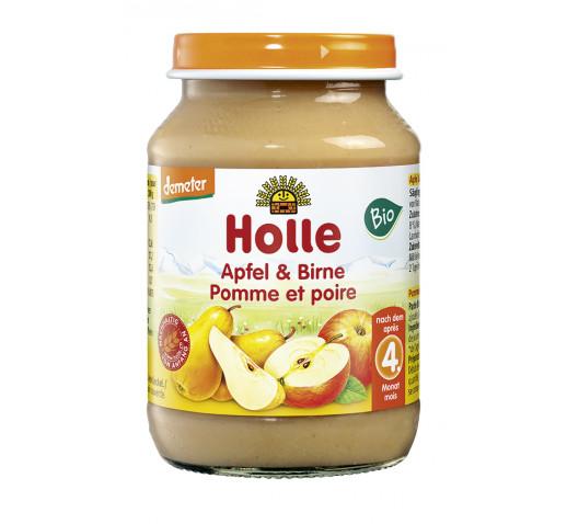 Holle - Organic bébiétel alma, körte 190 g