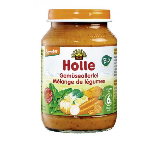 Holle - Organic bébiétel vegyeszöldség 190 g