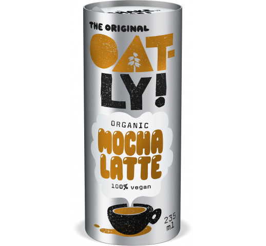 Oatly - Organic Mocha Latte coffee oatdrink 235 ml