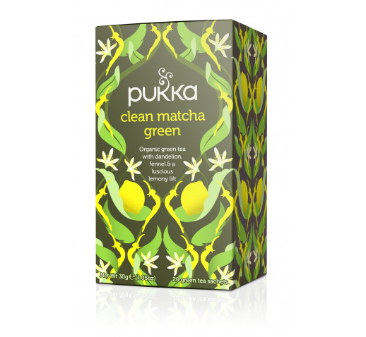 Pukka - Organic Clean Matcha Green tea 30 g
