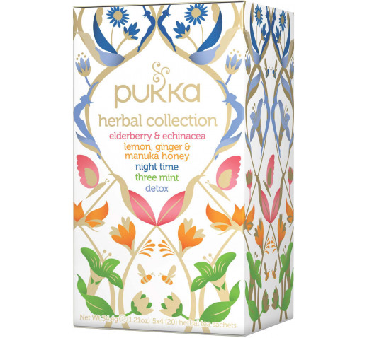 Pukka - Organic Herbal Collection tea - Organic 5 variants 34,4 g