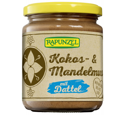 Rapunzel - Organic Coconut-almond cream with dates 250 g