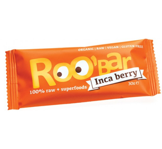 Roobar - Organic Inca berry Raw Bar 30 g