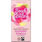 Seed and Bean - Organic White Raspberry and Vanilla 85 g