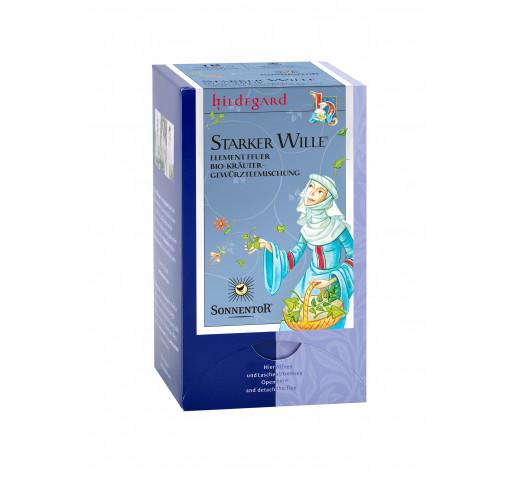 Sonnentor - Organic 4 Elem tea Erős Akarat, tűz elem 27 g
