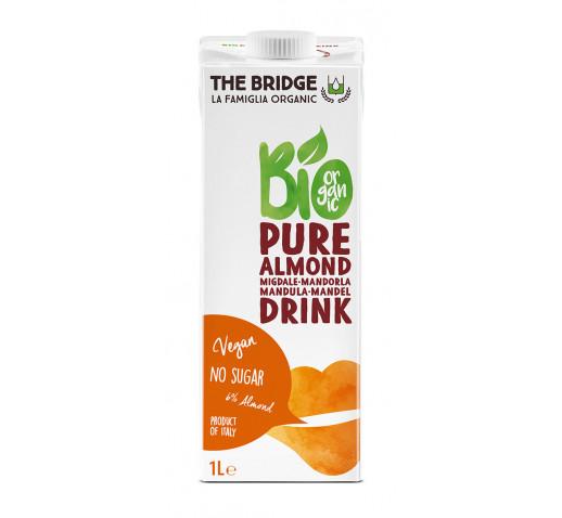 The Bridge - Organic Pure Almond Unsweetened Drink 1000 ml