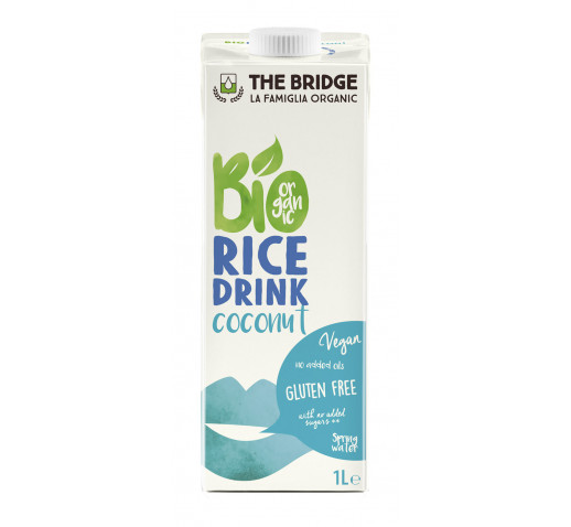 The Bridge - Organic Rice Drink Coconut 1000 ml