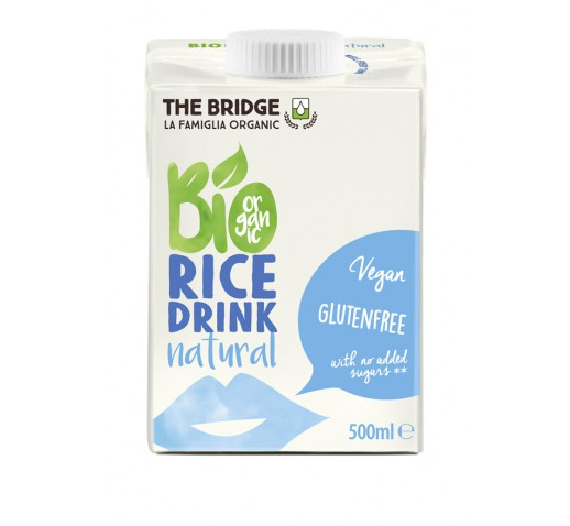 The Bridge - Organic Rice Drink Natural 500 ml