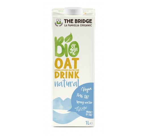 The Bridge - Organic Oat Drink Natural 1000 ml