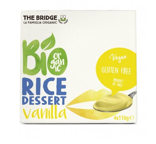 The Bridge - Organic Rice Dessert Vanilla 4 x 110 g