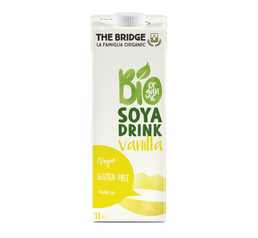 The Bridge - Organic Soya Drink Vanilla 1000 ml