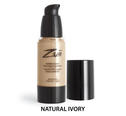 Zuii Organic - Folyékony Alapozó Natural Ivory 30 ml