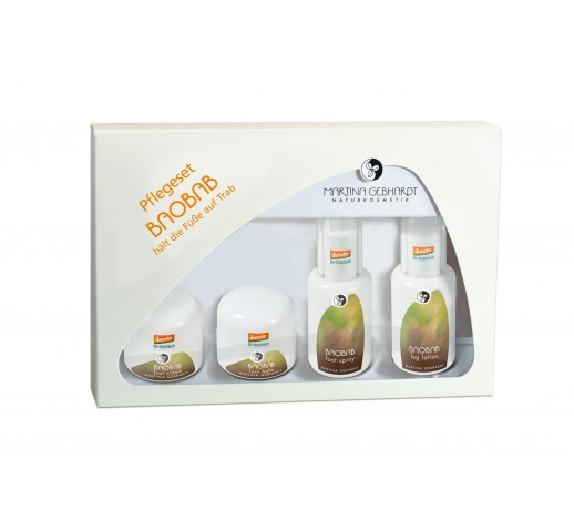 Martina Gebhardt - Organic Baobab Foot Care Set