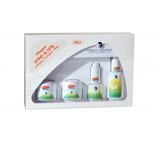 Martina Gebhardt - Organic Hand&Nail Care Set