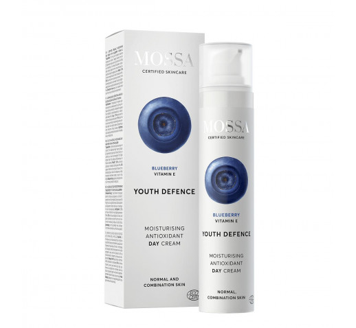 Mossa - Organic YOUTH DEFENCE Moisturising antioxidant day cream 50 ml