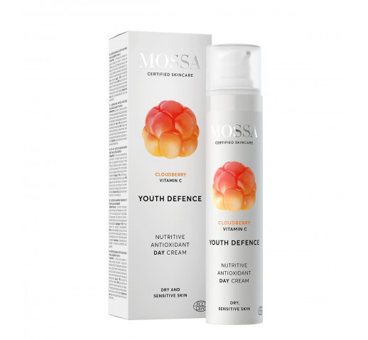 Mossa - Organic YOUTH DEFENCE Nutritive antioxidant day cream 50 ml